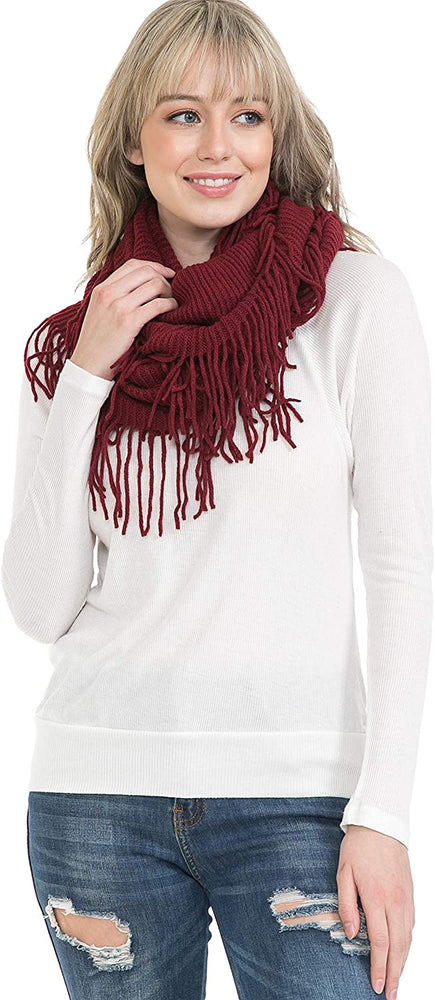 Basico Scarfs For Women Fashion, Soft Winter Scarf Masks, Infinity Scarves Neck Warmer