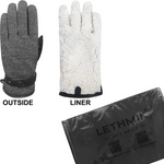 Men's Faux Leather Touchscreen Winter Gloves