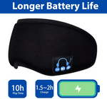 Bluetooth Sleep Mask With Built-In Speakers