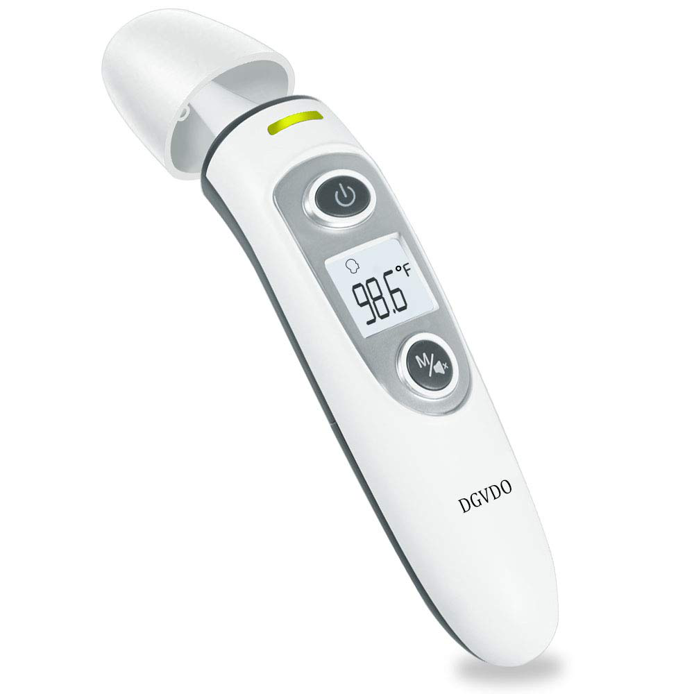 Non-Contact Forehead Thermometers, No Touch Digital Infrared Thermometer for Adults, Kids and Baby, Touchless Thermometer Within 0.4 Inch Distance, Fever Alarm, Memory Function