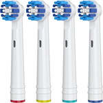 4 Pack Replacement Toothbrush Heads for Oral-B