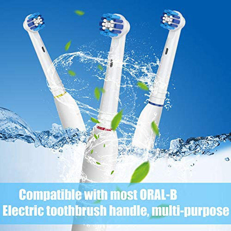 Replacement Toothbrush Heads for Oral-B, 4 Pack Replacement Heads Compatible with Oral B Braun Electric Toothbrush