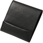 VeroMan Wallet Thin Bi-fold Card Holder Coin Purse Cowhide Leather Unisex