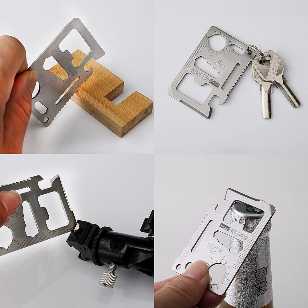 11 In 1 Multi Purpose Tool For Wallet