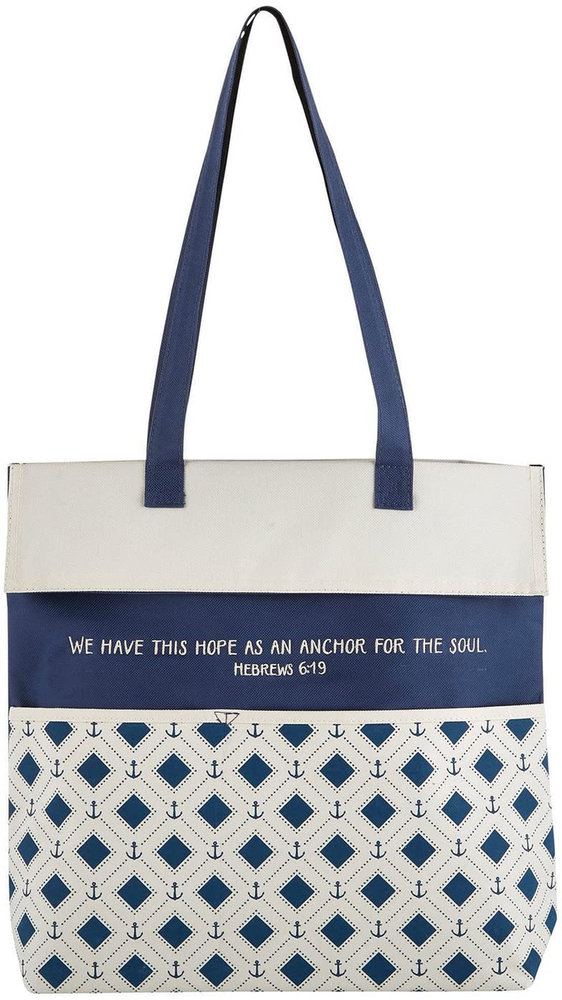 Inspirational Canvas Purse Tote Bag