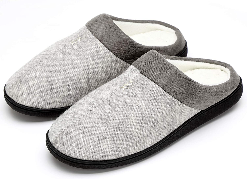 Men's Winter Warm Slippers  with Anti-Skid Soles
