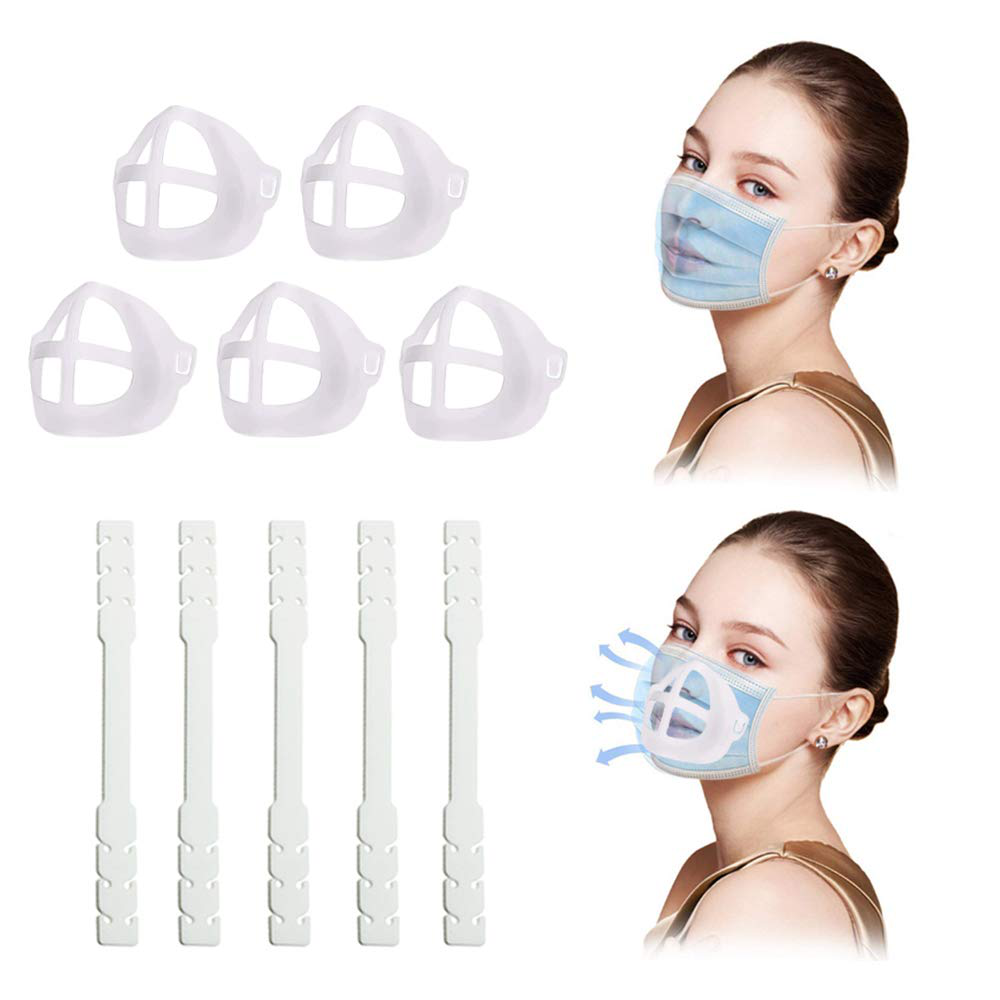10 Pack 3D Inner Support Mask Brackets and Ear Savers