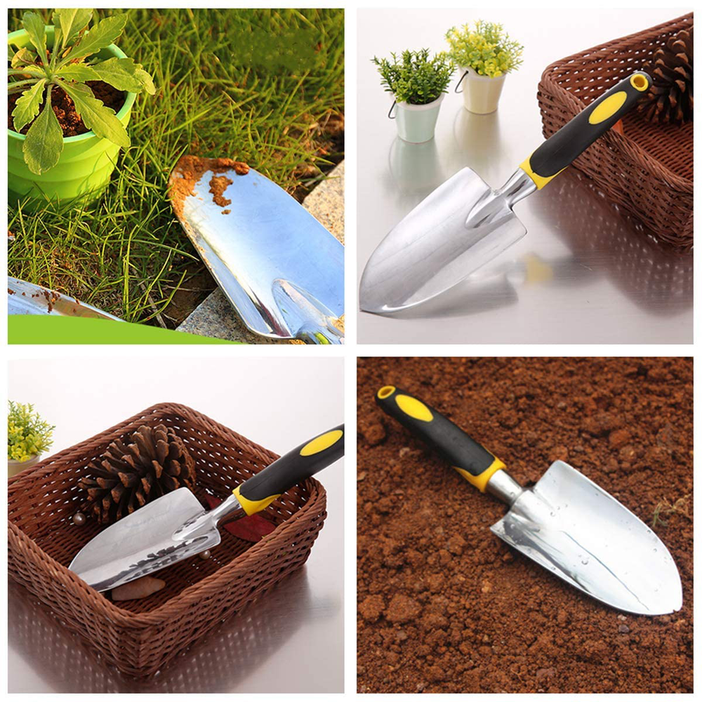 Garden Trowel, Hand Shovel, 1 Piece Cast-Aluminum Heavy Duty Gardening Tool, Garden Hand Tools for Men, Women and Kids.