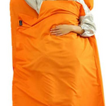 Portable Single/Doubles Sleeping Bag Liner For Travel