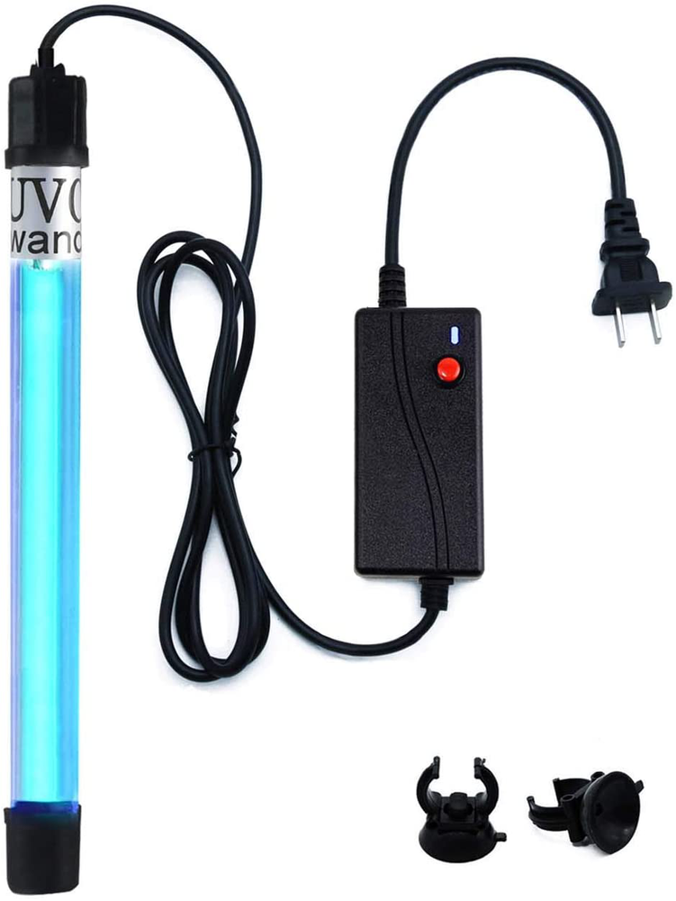 253.7nm Wand Waterproof/Timer Control /7-inch 7watts Light Lamp 110v Input 6ft Cord (Sunny Smell)