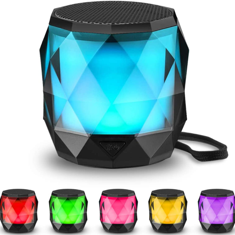 Wireless LED Portable Bluetooth Speaker And Nightlight