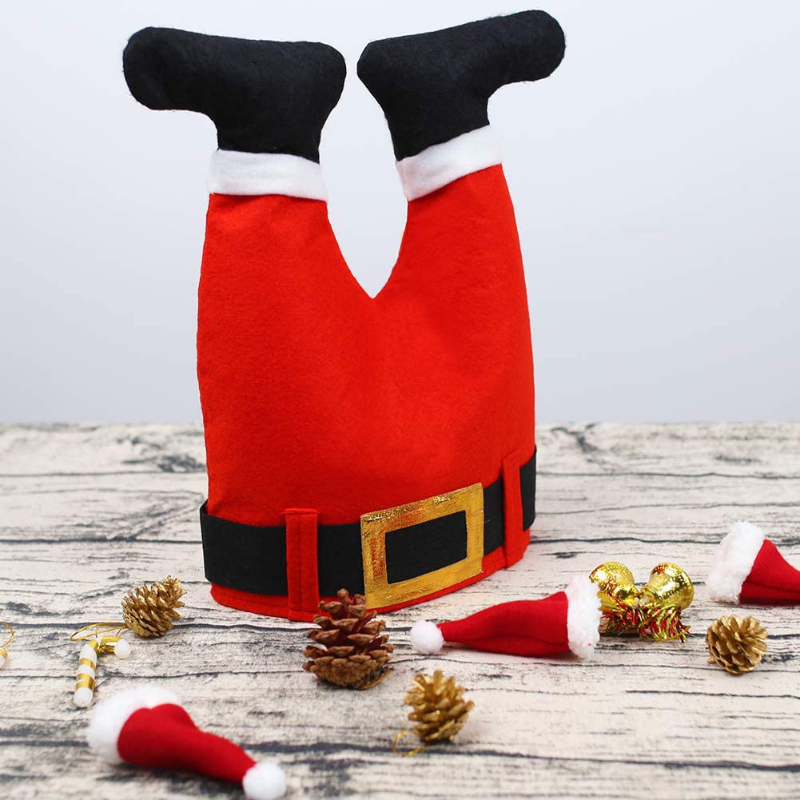 Funny Novelty Santa Pants Hat