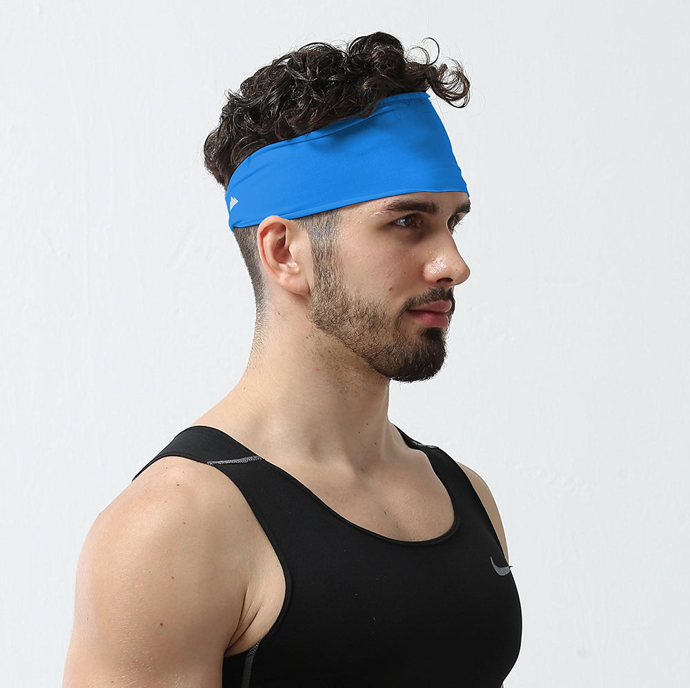Men's Sports Exercise Ultimate Performance Moisture Wicking Headband