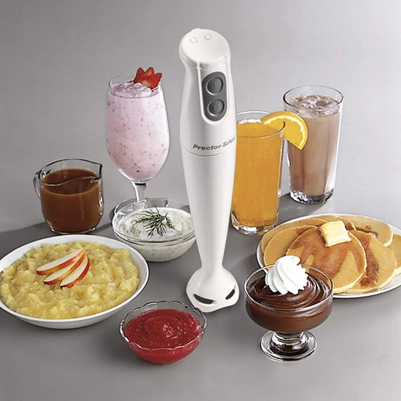 Two-Speed Metal Hand Blender