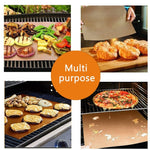 BBQ Nonstick Reusable Grill Mats - Set of 5