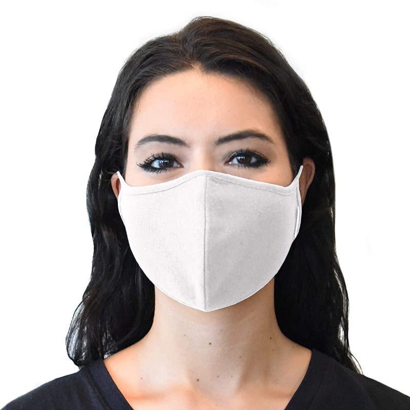 5 Pack: 2-Ply Reusable Washable Face Mask