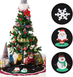 "48"" Decorative Christmas Tree Skirt"