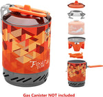 "Fire-Maple ""Fixed-Star 2"" Personal Cooking System Stove w/Electric Ignition, Pot Support & Propane/Butane Canister Stand 