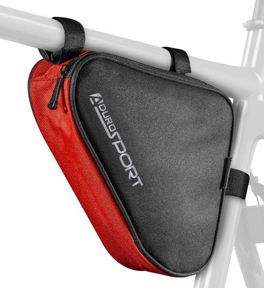 Sport Bicycle Triangle Storage Strap-On Bag