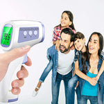 Non-Contact Infrared Digital Thermometer with LCD Display