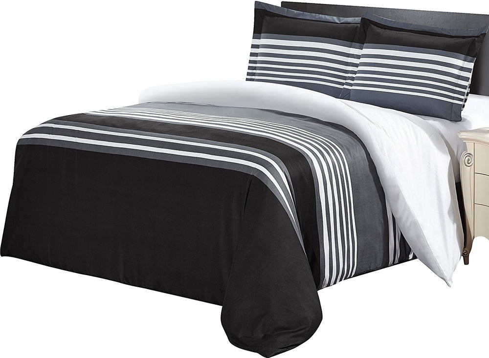 Luxurious Brushed Velvet Microfiber Duvet Cover Set