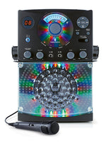 Singing Machine Karaoke SML385BTBK with Bluetooth, Sound and Multi Color LED Lights
