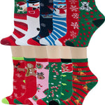 12 Pack Kids Novelty Socks