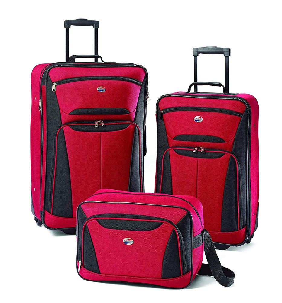 3 Piece: Travel Bag and Luggage Set by American Tourister Bags
