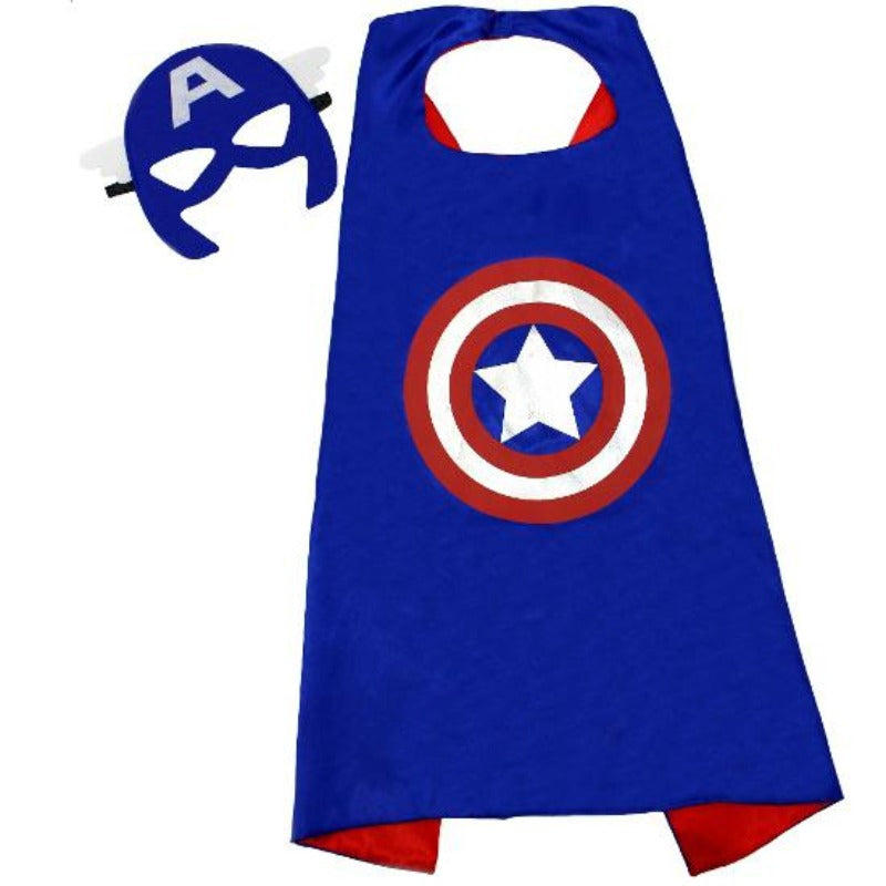 Unisex Superhero/Princess Cape With Mask