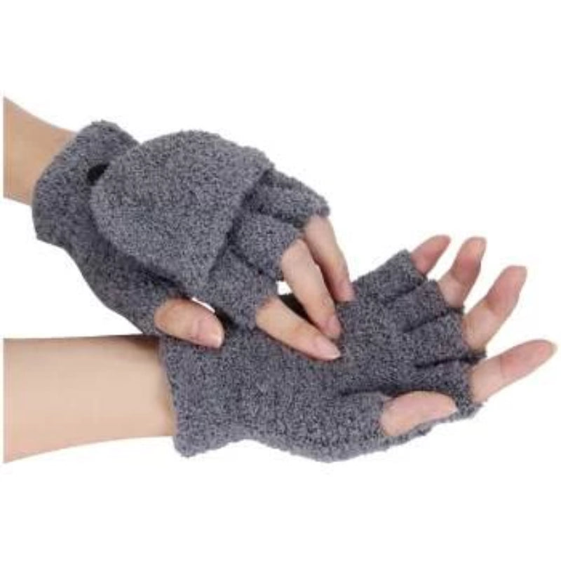 Lady's Winter Fingerless Gloves