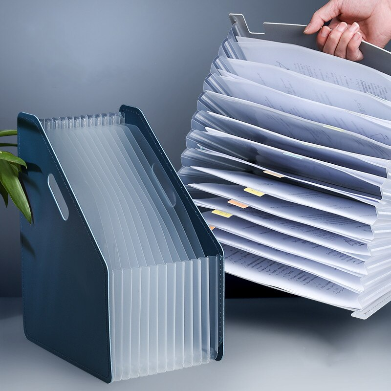 Expanding Desk File Document Paper Organizer Storage Folder