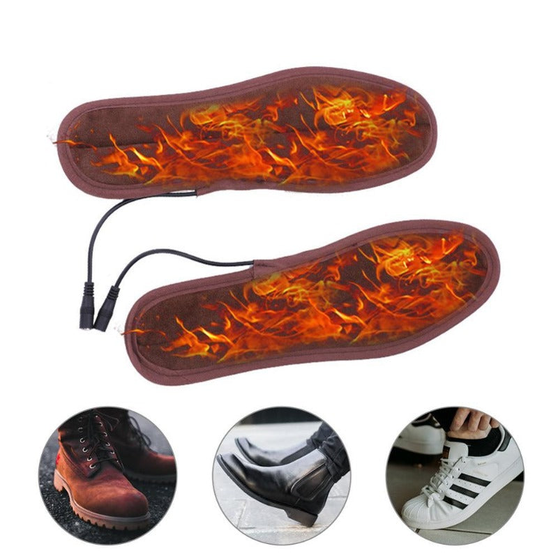 USB Electric Heated Shoe Insoles