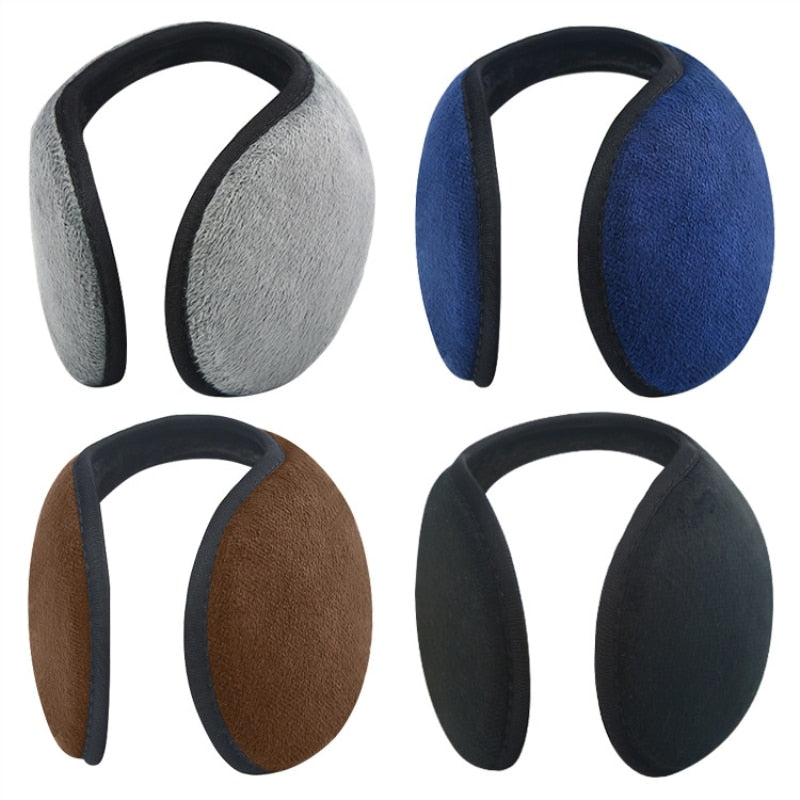 Unisex Thick Plush Warm Ear Cover Earmuffs