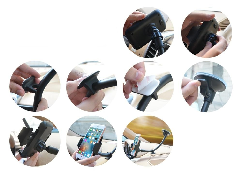 Vehicle Windshield Phone Holder