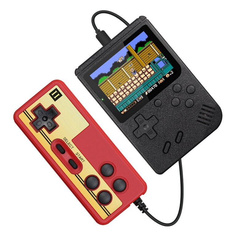 400 Game Retro Portable Mini Handheld Game Console 8-Bit 3.0 Inch Color LCD Player
