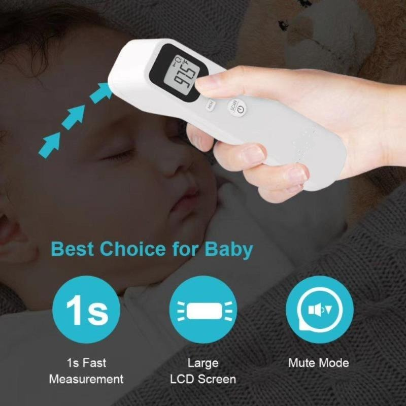 Digital LCD Infrared Forehead Thermometer