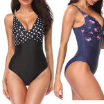 Women's One Piece Push Up Swimsuit
