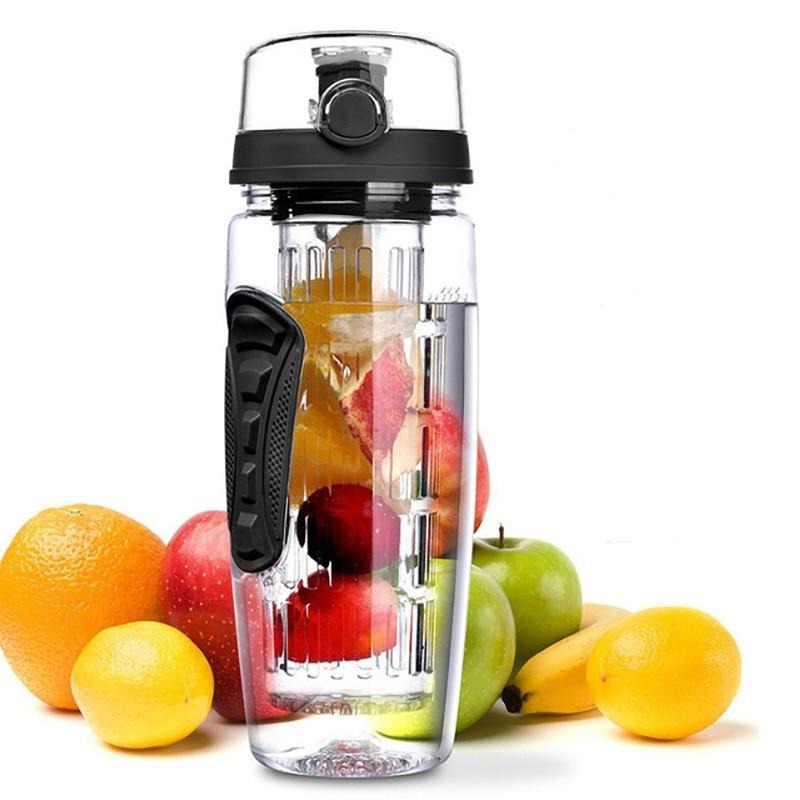32oz Portable Fruit Infuser Water Bottle