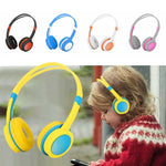 Kid's Adjustable Safety Headphones with Mic