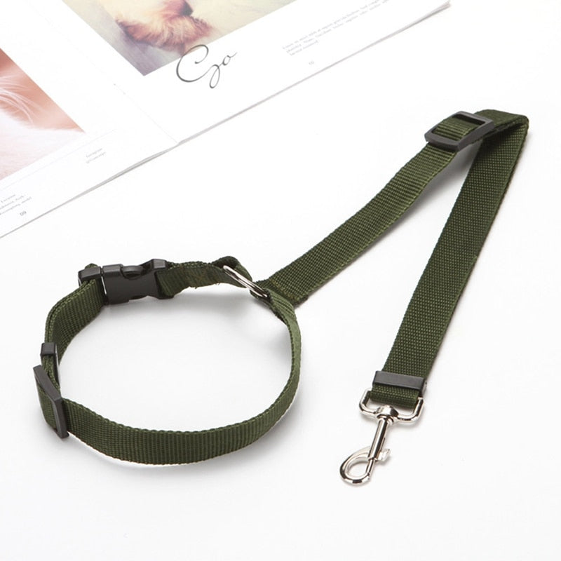 Adjustable Pet Safety Car Seat Belt Harness