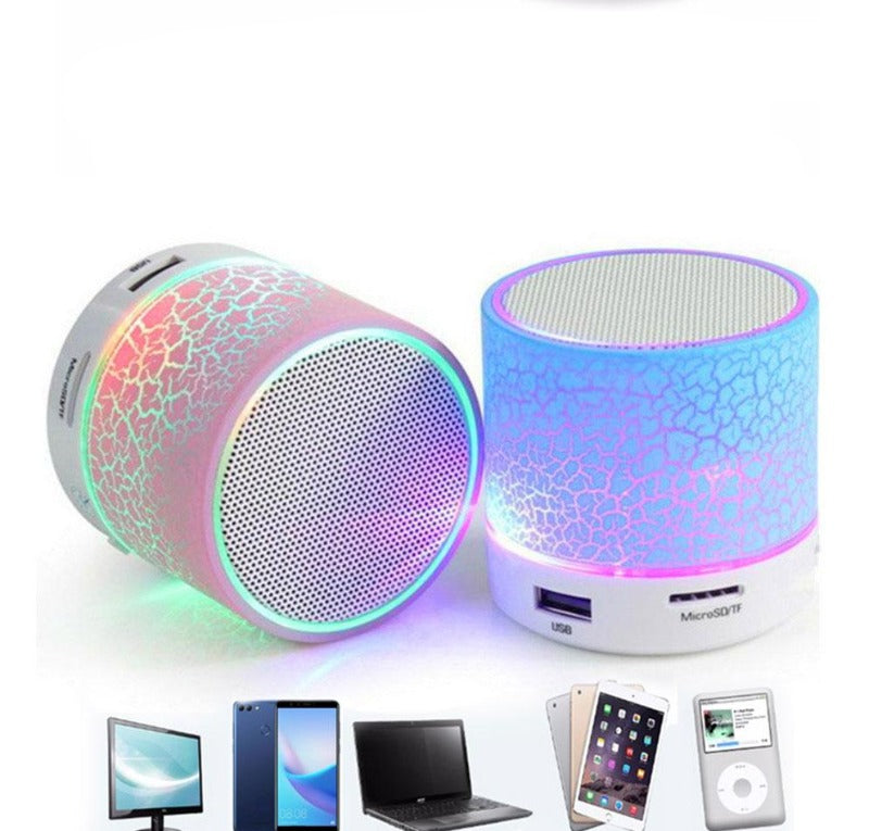 Mini LED Portable Bluetooth Speaker With FM Radio