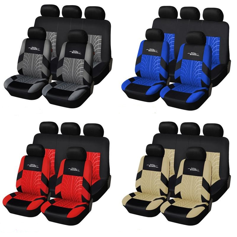 Universal Car Seat Protective Covers Set