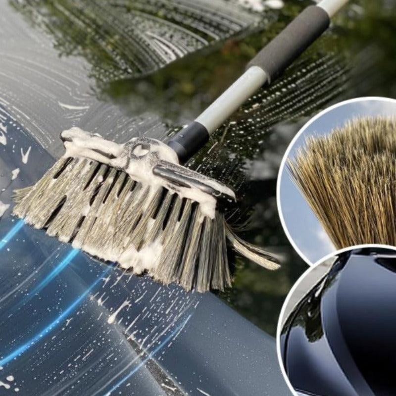 Car Wash Waterflow Cleaning Mop with Long Handle
