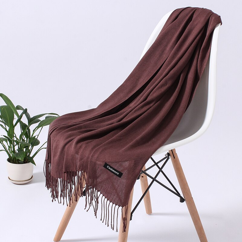 Women's Winter Tassel Scarf