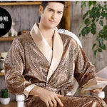 Men's Satin Lounge Robe