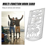 22 in 1 Multifunctional Fishing Gear Hook Card