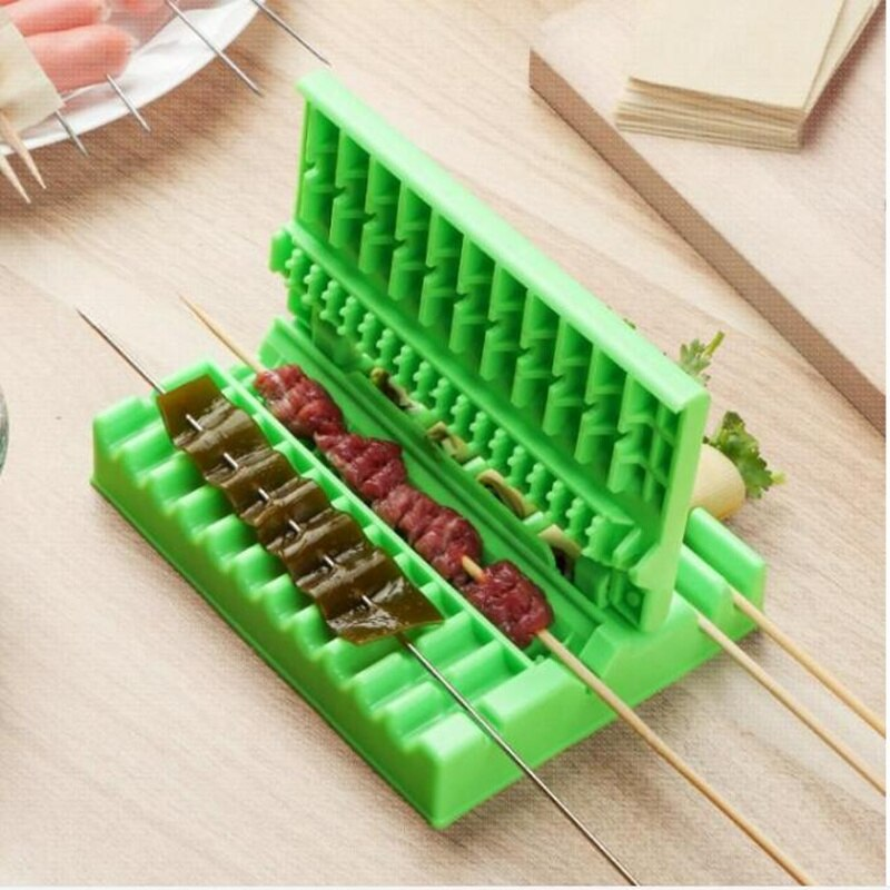 Meat And Vegetable Skewer Machine