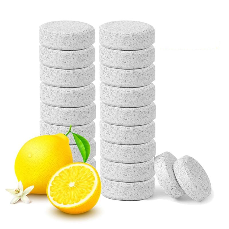 50 pcs Multifunctional Effervescent Concentrate Cleaner Lemon