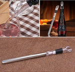 Stainless Steel Wine Chilling Rod With Spout