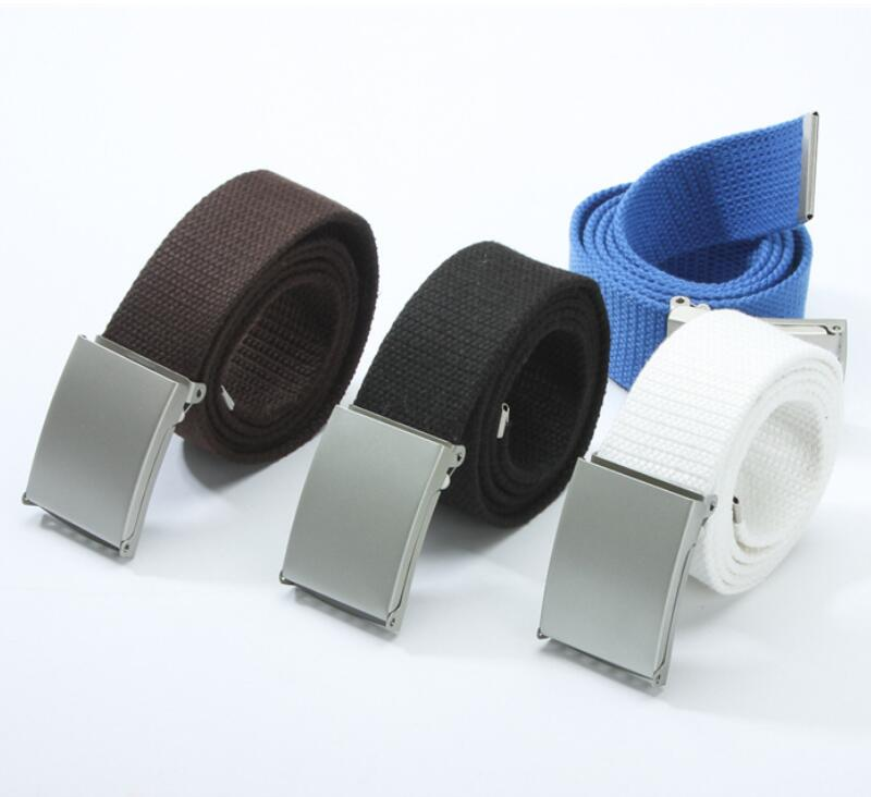 Unisex Canvas Adjustable Waist Belt